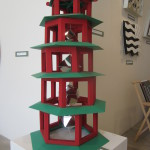 Pagoda with euclidian solids